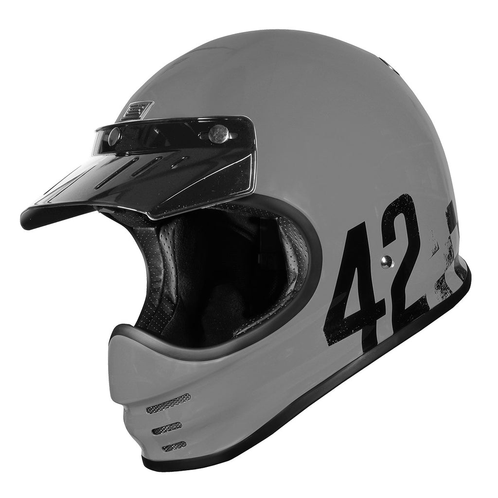 Origine Virgo MC Motorcycle Helmet - Danny Grey