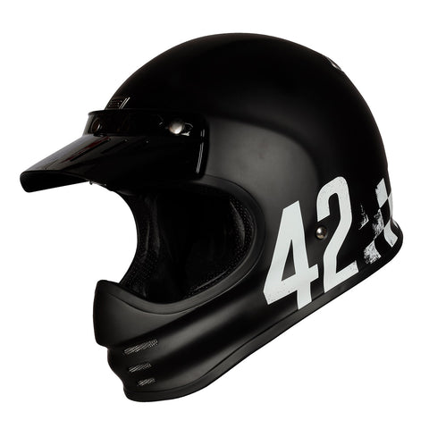 Origine Virgo MC Motorcycle Helmet - Danny Matt Black