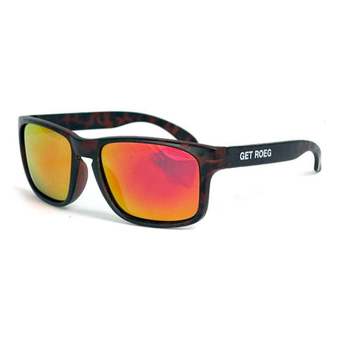 Roeg Billy Sunglasses - Tortoise Frame - Revo Lens