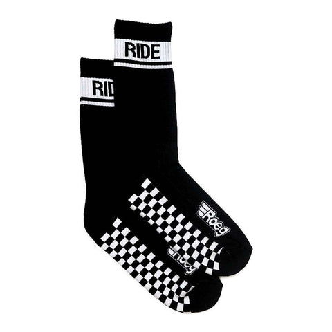 Roeg 'Early Finish' socks - Black