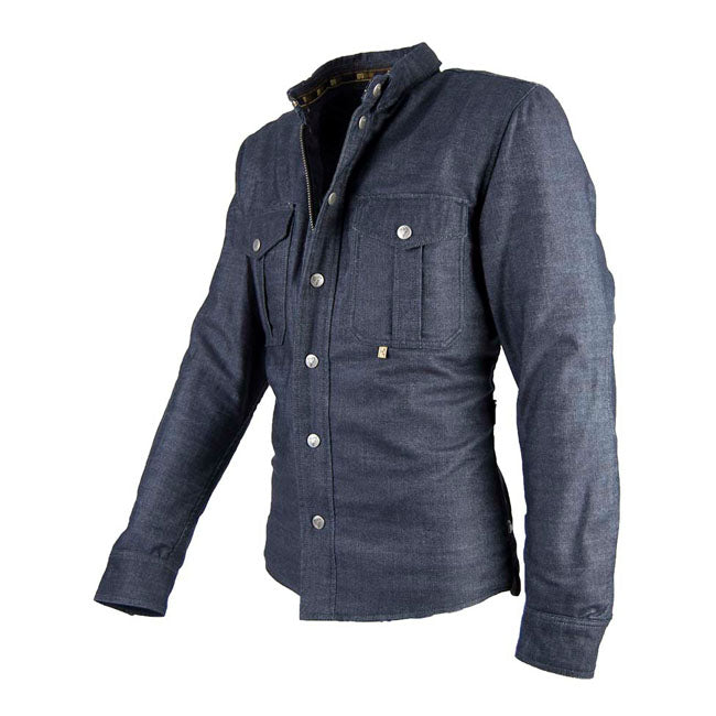 SUV Denim Overshirt - Blue Denim
