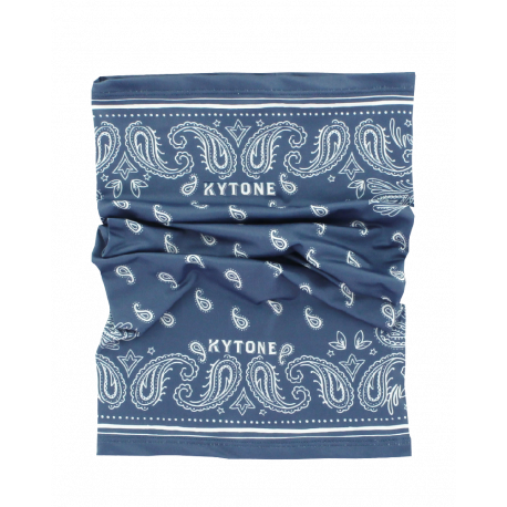 Neck Tube/Scarf KYTONE - Paisley Blue