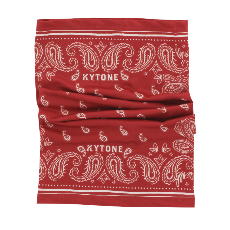 Neck Tube/Scarf KYTONE - Paisley Red