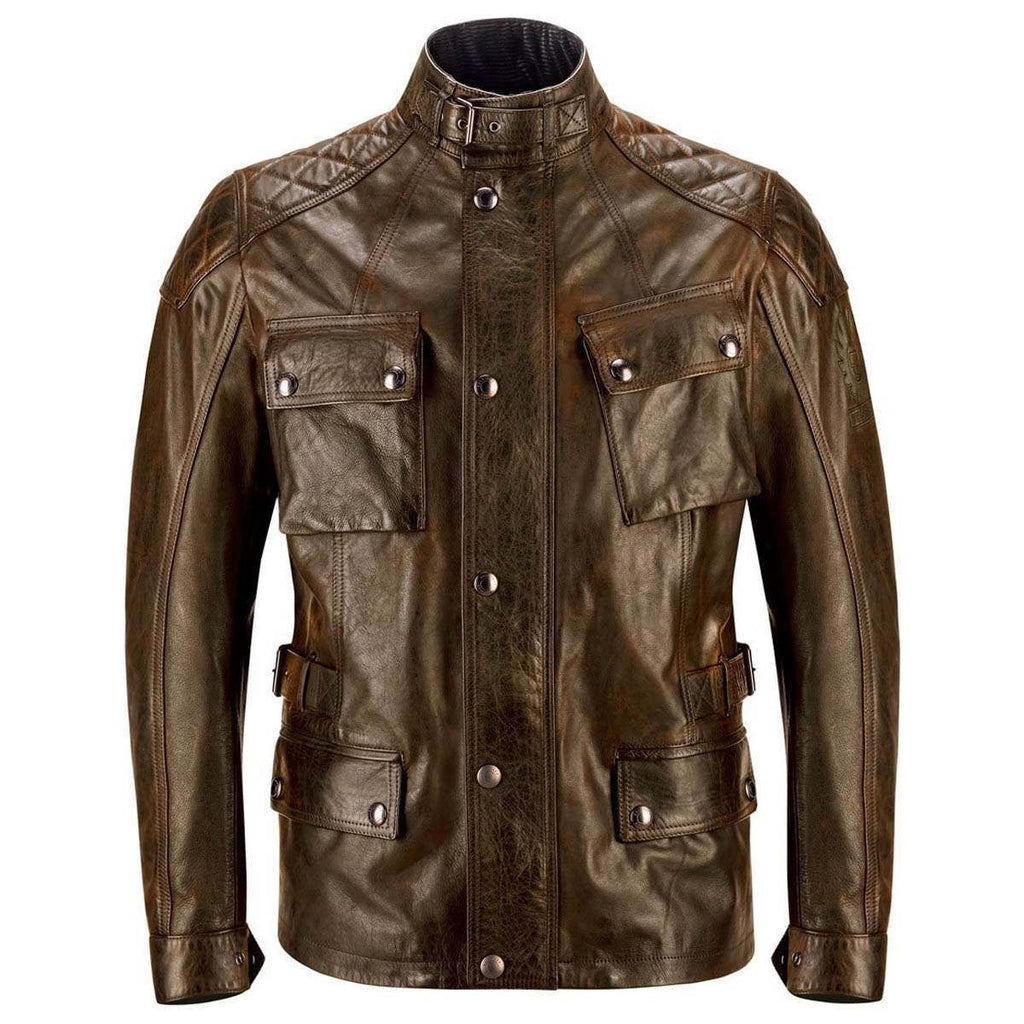 Belstaff Turner Leather Motorcycle Jacket