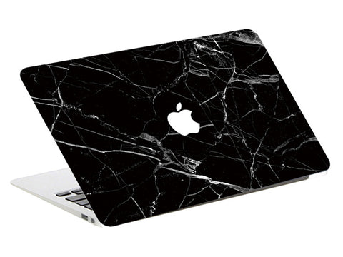Noir Marble MacBook Skin Full Set