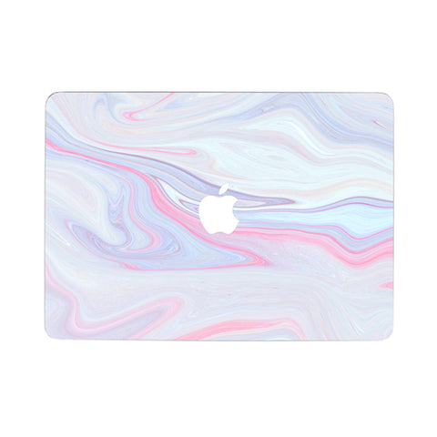 Purple Marble MacBook Skin Full Set