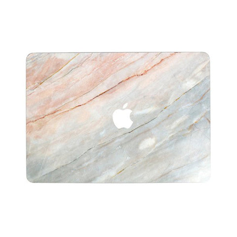 Rosé Marble MacBook Skin Full Set