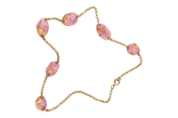 Necklace - Rose / Collier