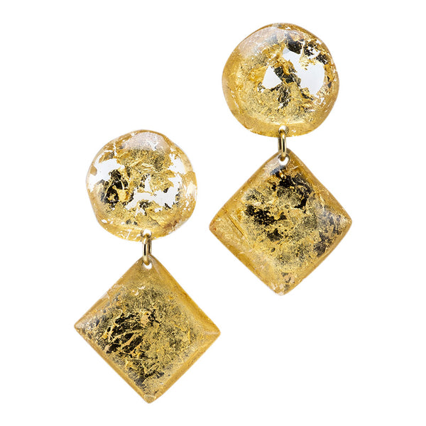 Jody's Dangling Earrings - Gold/ Les boucles pendantes de Jody