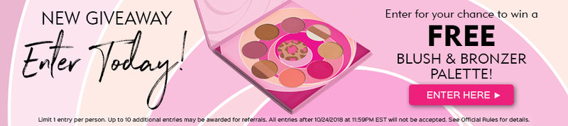 Enter to win a FREE Blush & Bronzer Palette