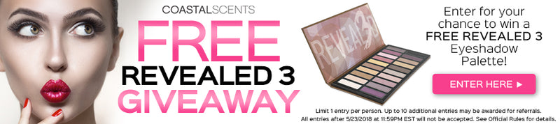 Enter to win a FREE Revealed 3 Palette!