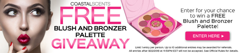 Enter to win a FREE Blush and Bronzer Palette