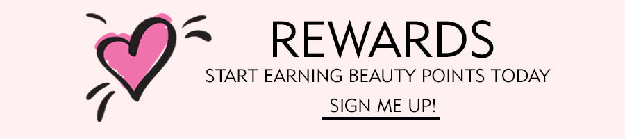 Rewards Earn Beauty Points, Share with your friends, Get Free Makeup!