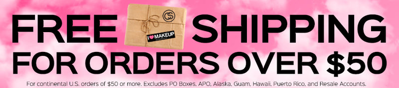 Free Shipping For Orders Over $50!