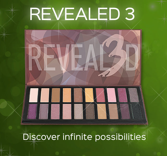 Revealed 3 Eyeshadow Palette- Discover infinite possibilities