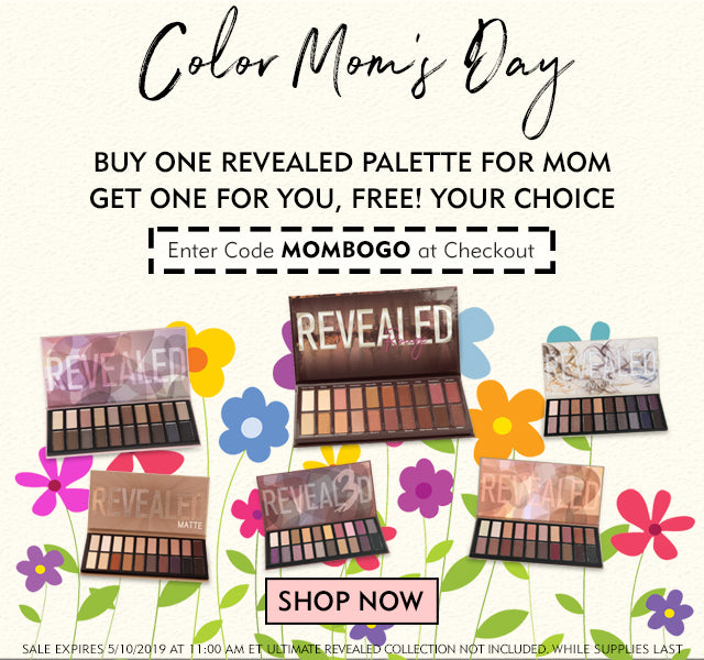Color Mom's Day with a Free Revealed Palette!