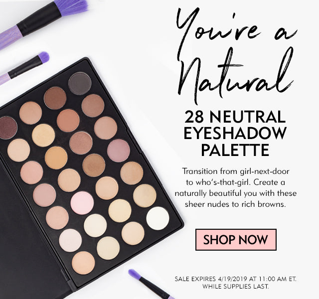 28 Neutral Eyeshadow Palette On Sale Now!
