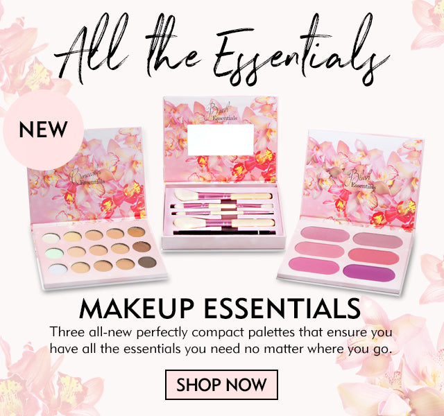 Makeup Essentials- Three all-new perfectly compact palettes that ensure you have all the essentials you need no matter where you go.