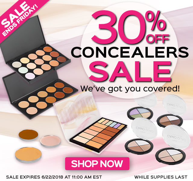 30% OFF CONCEALERS SALE!