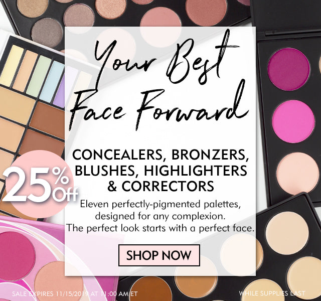 25% Off All Face Palettes