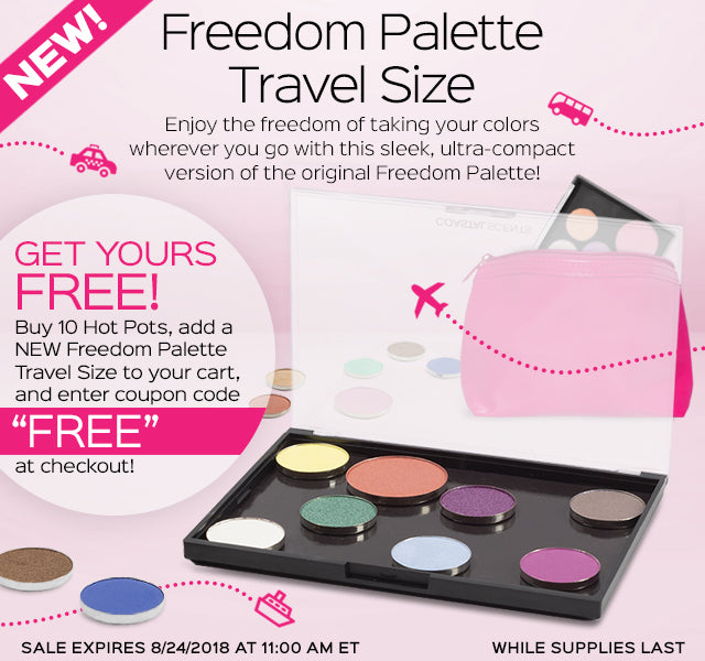 New Freedom Travel Palette