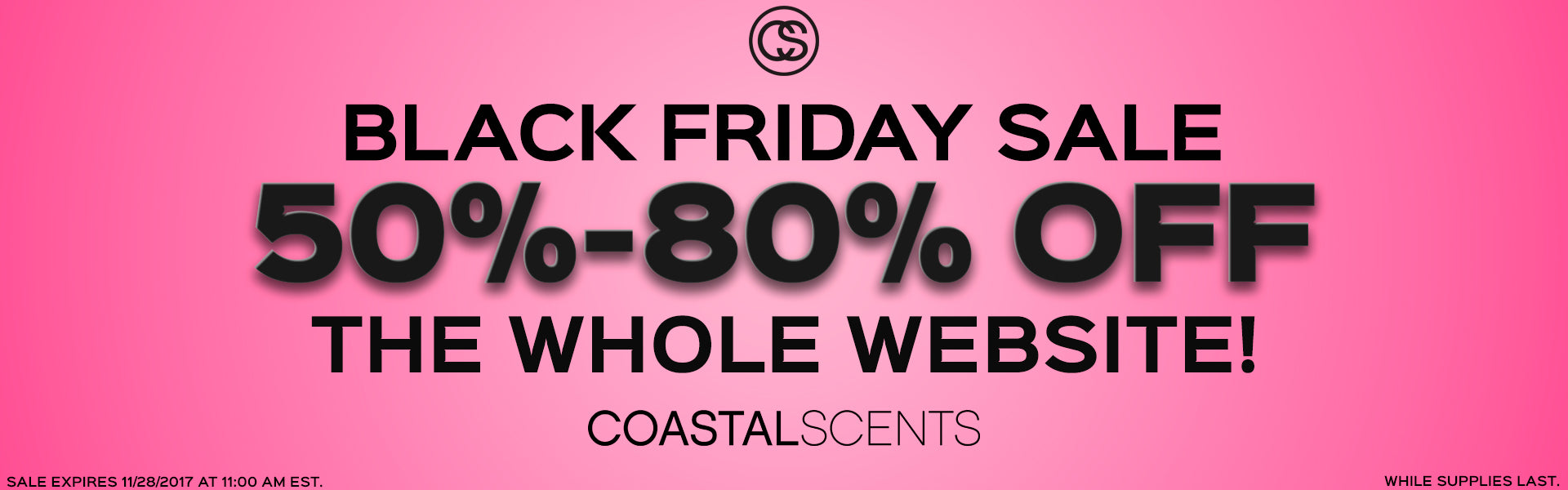 Black Friday Sale 50%-80% OFF The Whole Website