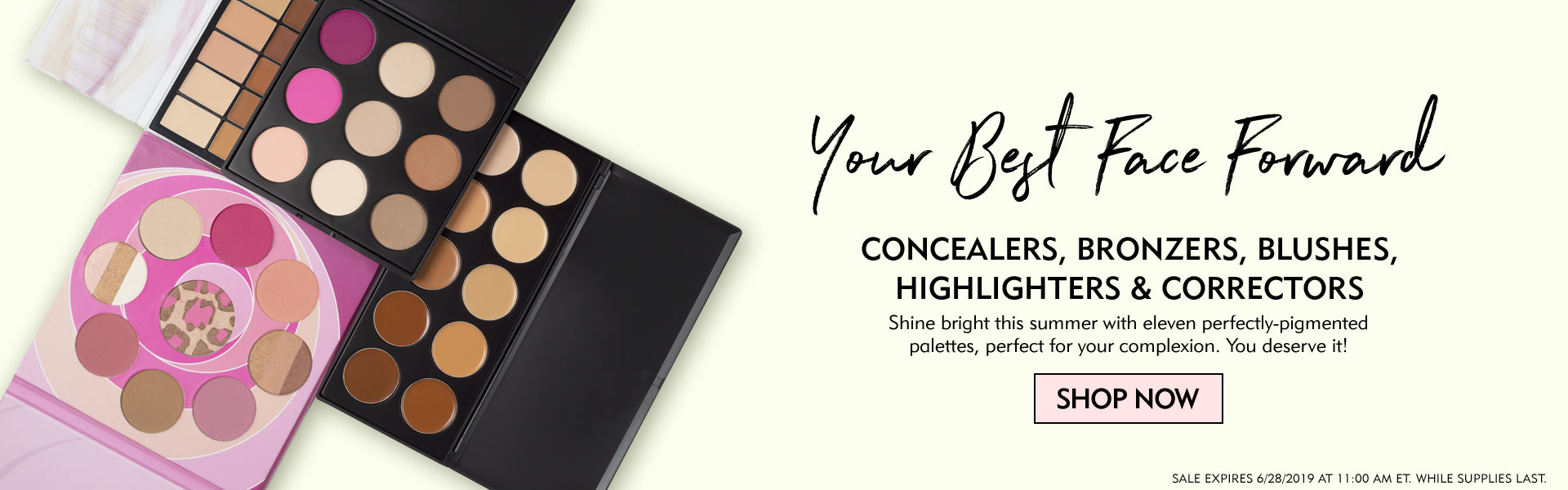 Your Best Face Forward - Concealers, Bronzers, Blushes, Highlighters, & Correctors