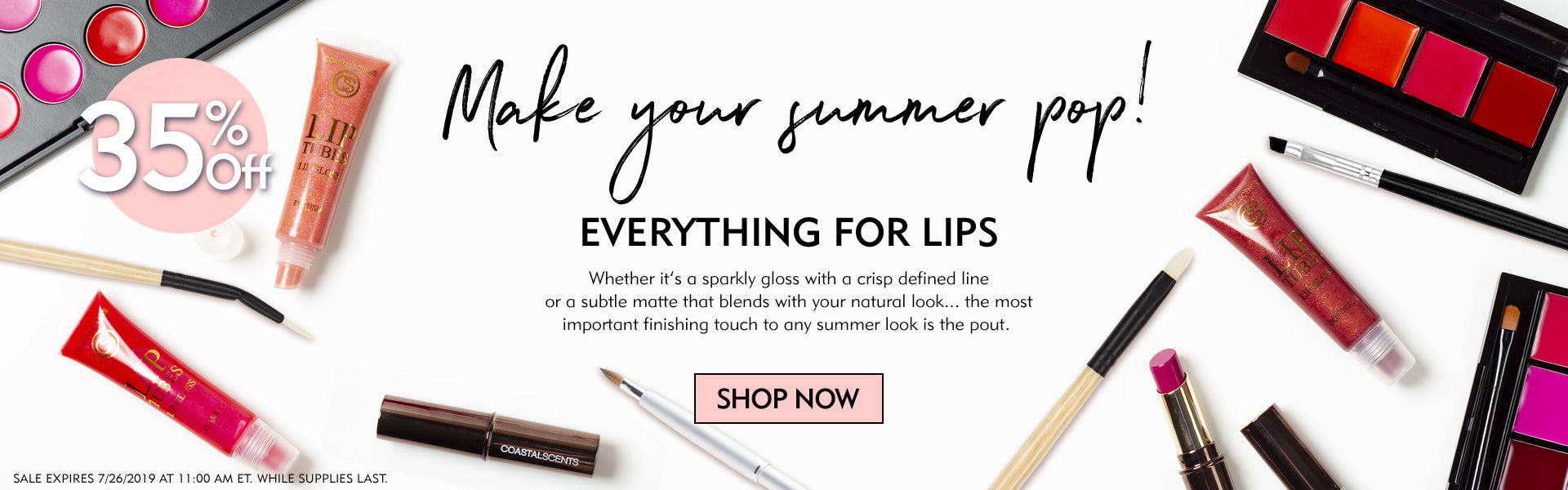 35% Off Everything for Lips