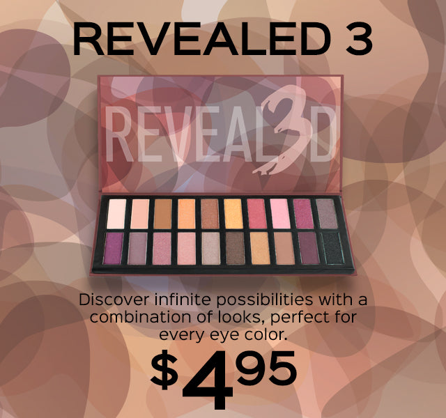 Revealed 3 Eyeshadow Palette Now Only $4.95