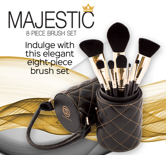 Majestic Brush Set with Cup