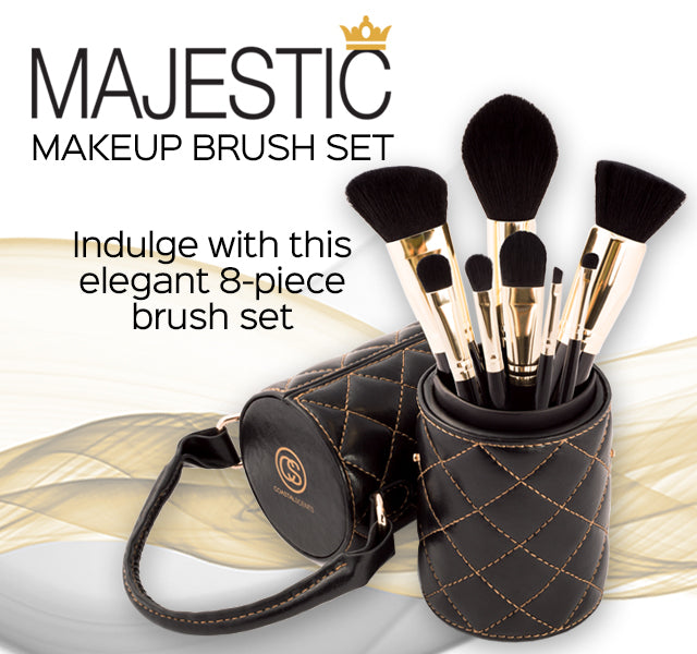 Majestic Makeup Brush Set
