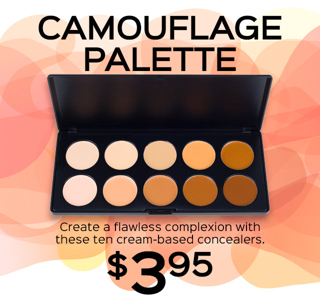 Camouflage Palette Now Only $3.95