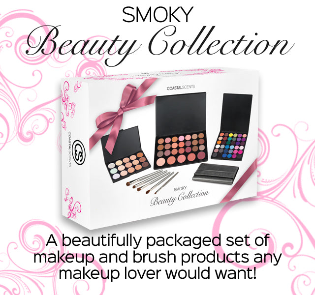 Beauty Collection Smoky - A beautifully packaged set of makeup and brush products any makeup lover would want