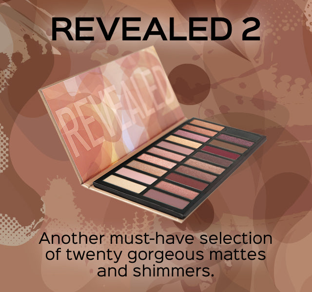 Revealed 2 - Another must-have selection of twenty gorgeous mattes and shimmers.