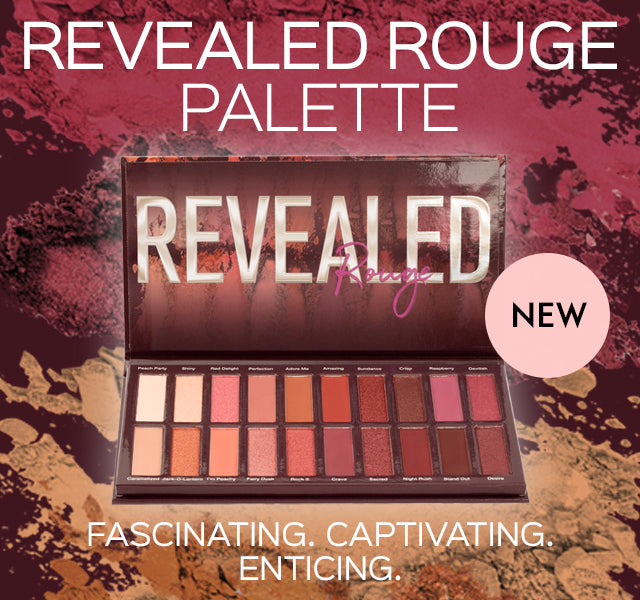 All New Revealed Rouge Eyeshadow Palette