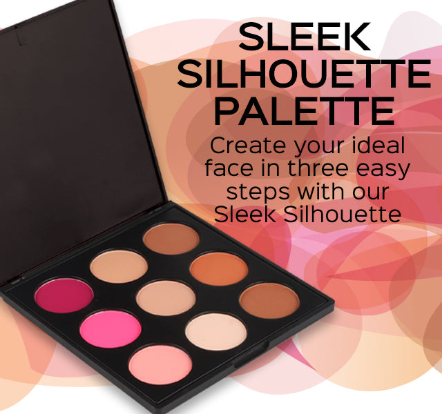 Sleek Silhouette Palette - Create your ideal face in three easy steps with our Sleek Silhouette