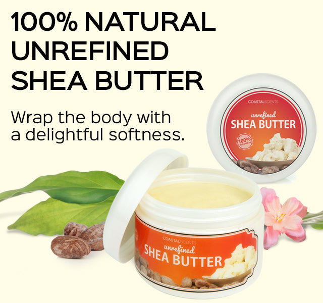 100% Natural Unrefined Shea Butter