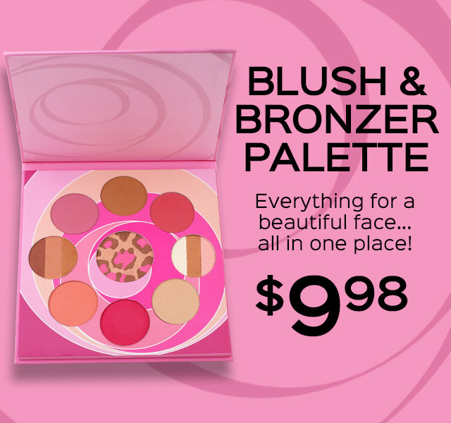 Blush and Bronzer Palette Now Only $9.98