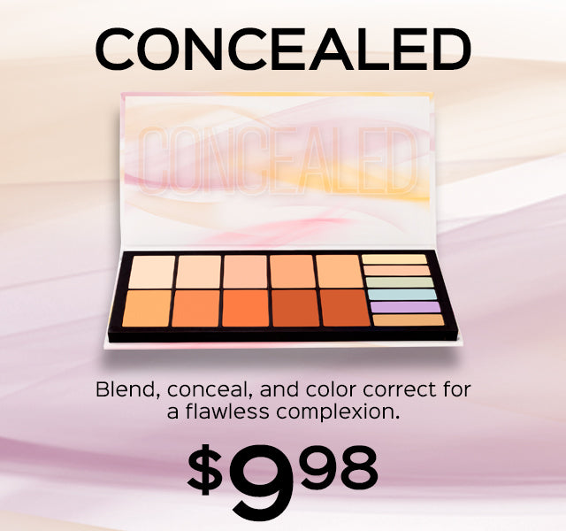 Concealed Palette Now Only $9.98