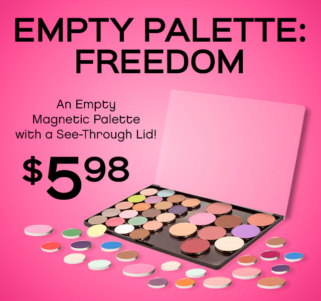 Empty Palette Freedom Only $5.98