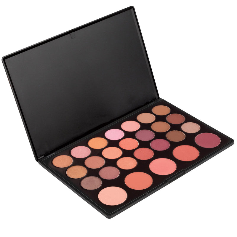 Makeup- Blush Palette - 26 Shadow Blush Palette By Coastal Scents