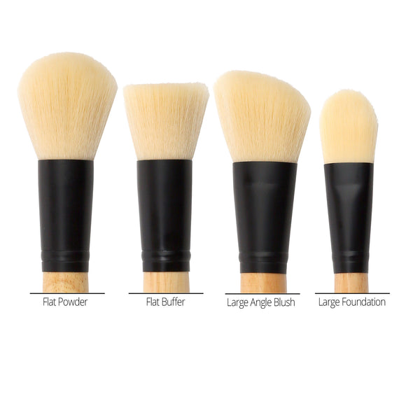 4 Face Makeup Brush Set