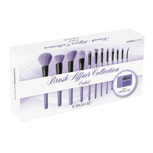 Brush Affair Collection 12 Piece Makeup Brush Set in Orchid