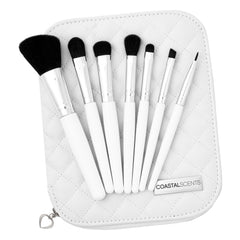 Sterling Dream Travel Makeup Brush Set