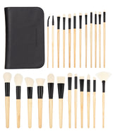 Elite Makeup Brush Set By Coastal Scents - Individual Brushes and Case