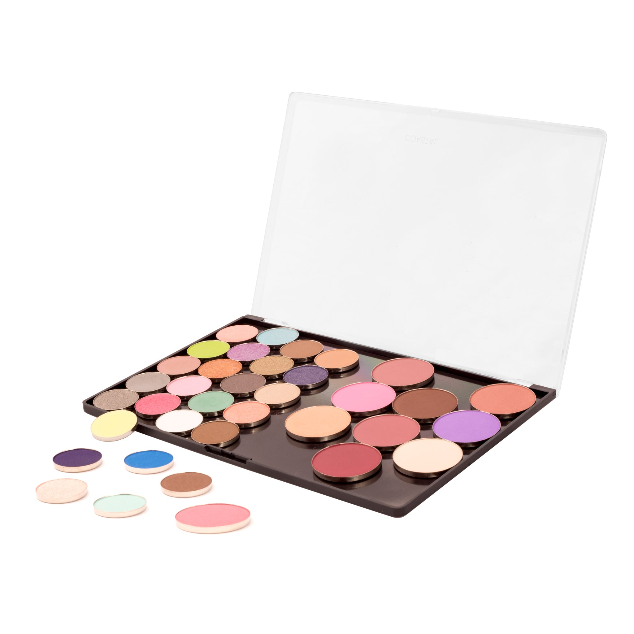 Makeup Palette- Freedom Palette (Empty) With Hot Pots By Coastal Scents