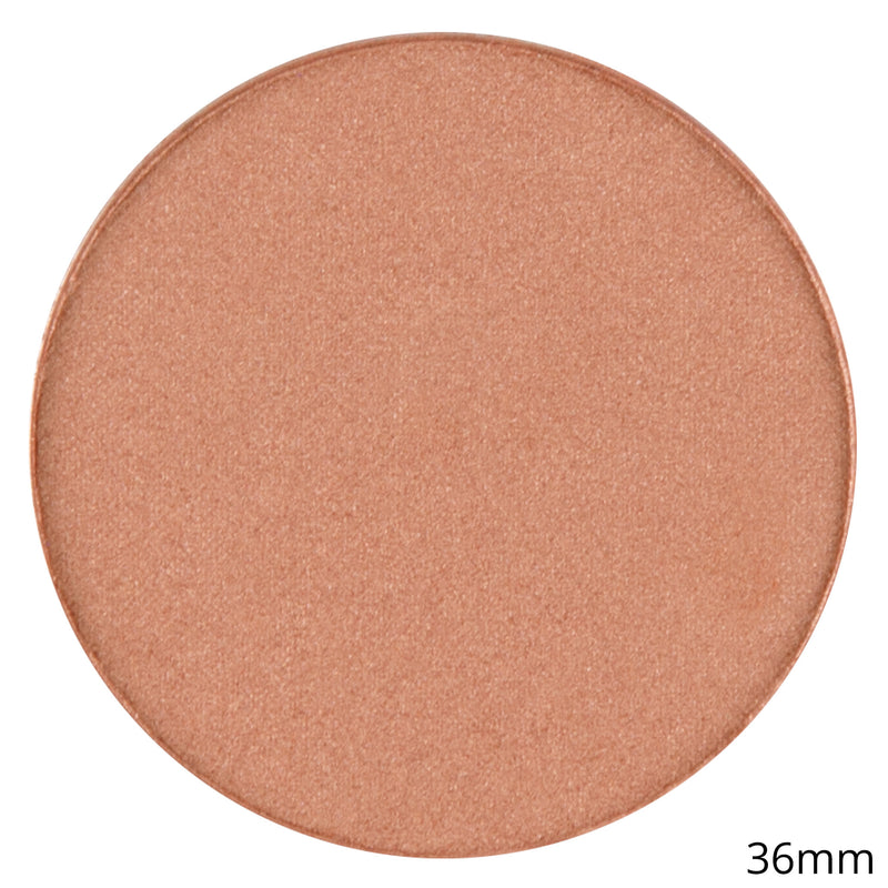 Single Shimmer Blush Shadow -Blush Pot- Hazelnut Mousse By Coastal Scents