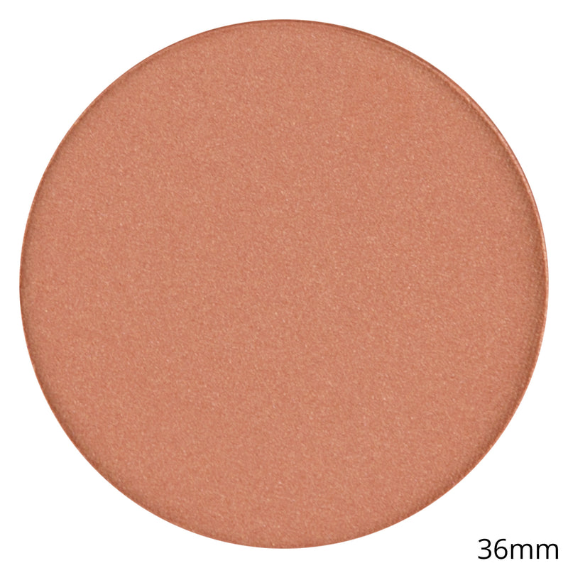 Single Satin Blush Shadow - Blush Pot - Glazed Ginger By Coastal Scents