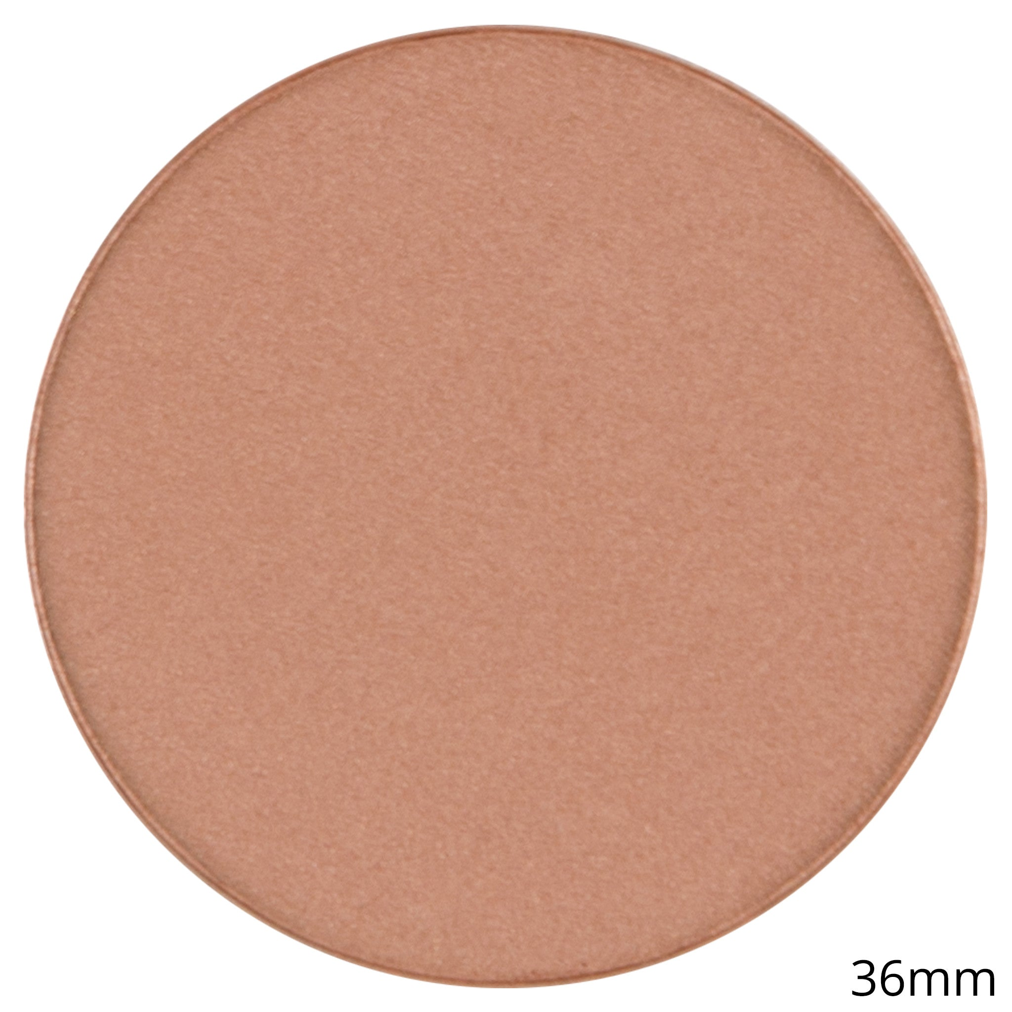 Single Satin Blush Shadow - Blush Pot - Nutmeg Frost- By Coastal Scents