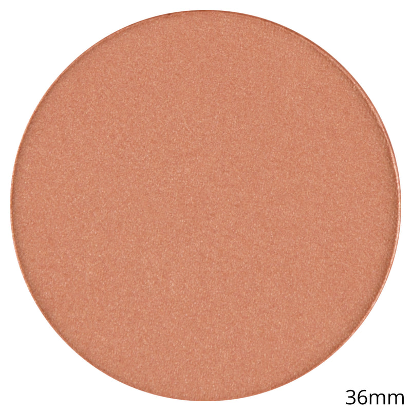 Single Satin Blush Shadow -Blush Pot - Relic Bronze By Coastal Scents